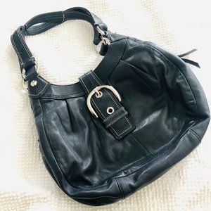Coach Soho Lynn Buckle Hobo Shoulder Bag 15527